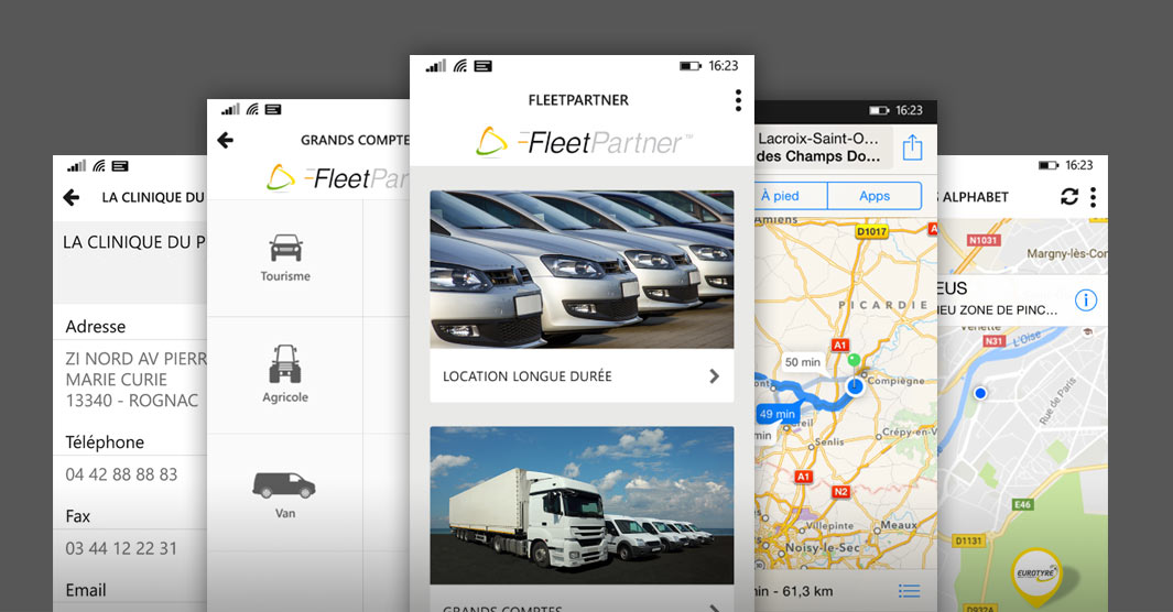 Application Mobile Fleet Partner